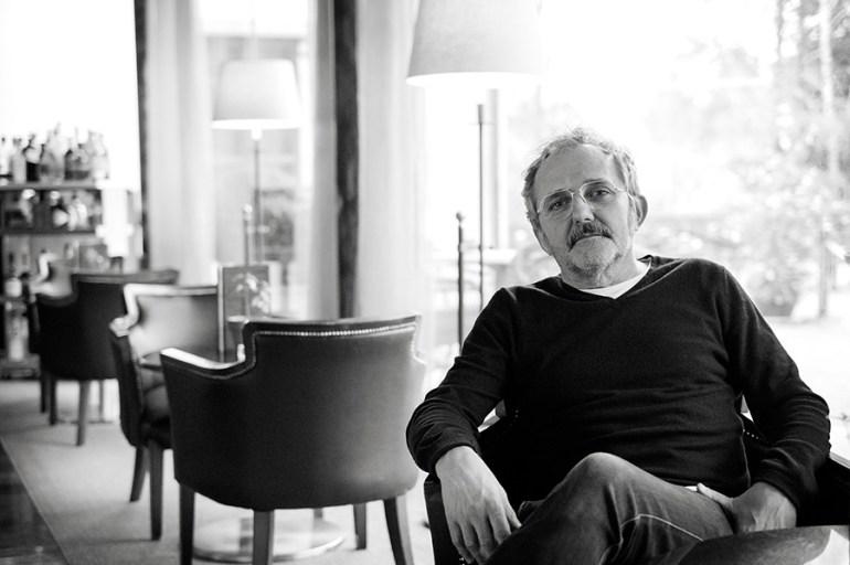 Morris, na cafetería do Hotel AC Palacio del Carmen, onde realizamos esta entrevista. Foto: Iván Barreiro