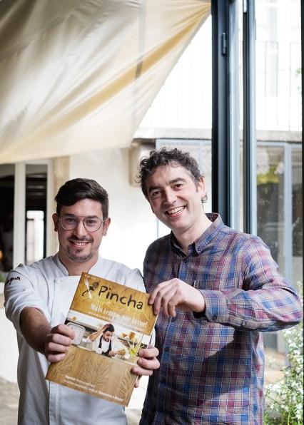 Jorge e Manuel co número un de Pincha. Foto: Iván Barreiro