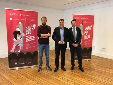 Presentación do Galicia Escena PRO 2019.