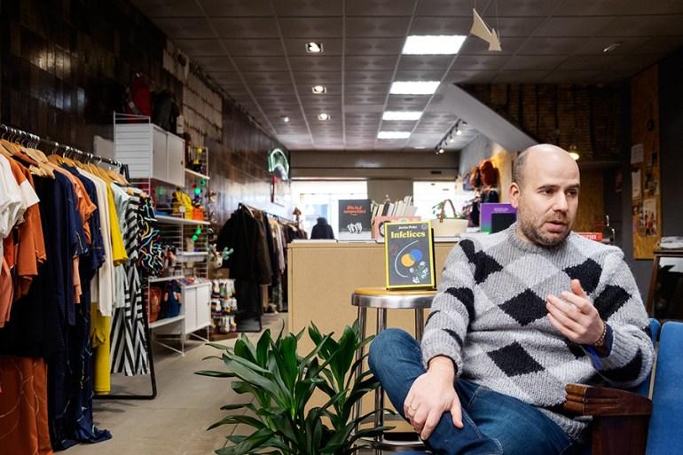 Javier Peña é autor de 'Infelices'. Foto: Iván Barreiro