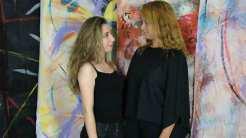 Alba Patrícia e Isabela Stamponi