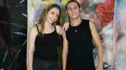 Isabela Stamponi e Zack Moreno