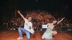 3 - Felipe Cabral e Julia Stockler_ Festu (Final da Mostra Nacional Competitiva) - Foto Zeca Vieira