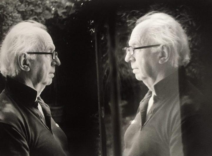 Hubert Damisch (© Denis Roche)