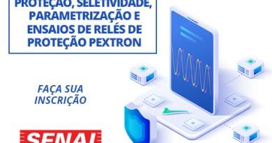 Curso de relés Pextron no SENAI Pirituba