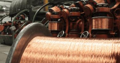 O cobre na fabricação de fios e cabos elétricos