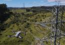Inspeção de infraestrutura por drone