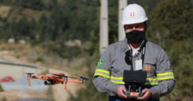 Uso de drones para inspeção de redes de energia