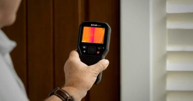Medidor de umidade e gerador de imagem térmica