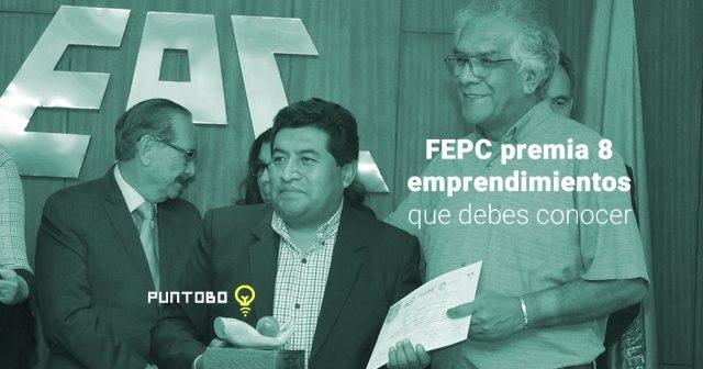 Federación de Empresarios de Cochabamba distingue 8 emprendedores con premio Kamay