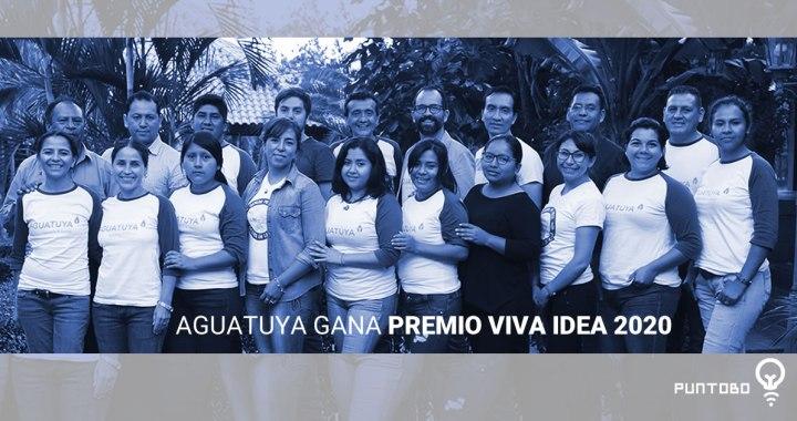 Aguatuya, fundación boliviana, gana en Premios Viva 2020.