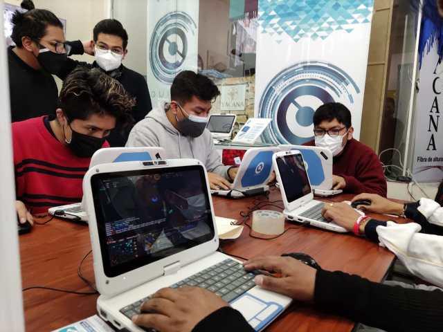 Quipus organiza concurso de gamers en La Paz.