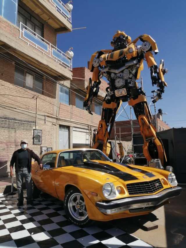 Bumblebee de los Transformers