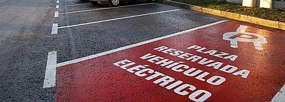 plaza coche electrico