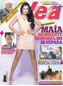 portada revista vea mayo 2013 con Maia