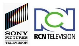 Logo Sony Pictures television y rcn television