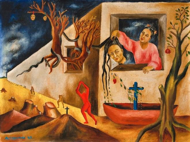 MARÍA IZQUIERDO_SUEÑO Y PRESENTIMIENTO_1947