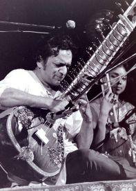 Ravi Shankar, mentor de George