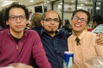Alan Montellano, Ethan Buendía y Alejandra Arteaga