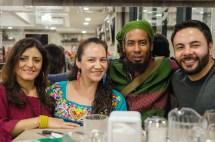 Erika Niño, Alma Vázquez, Rubén Lombida, Giovanni Algarra, equipo editorial QUIXE