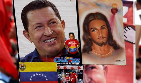 Chávez y Jesús.