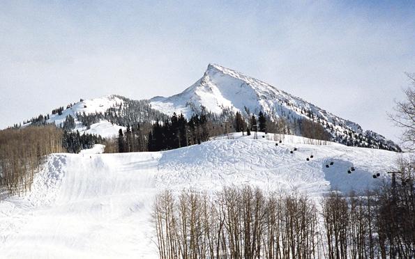 El invierno en Crested Butte.