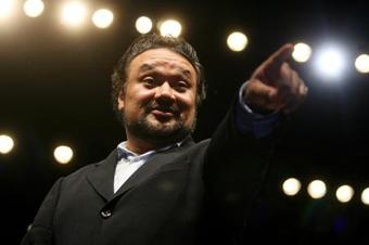 El tenor Ramón Vargas. Foto © El Economista.
