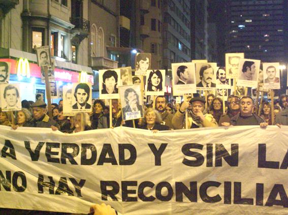 Marcha en Montevideo, 2009.