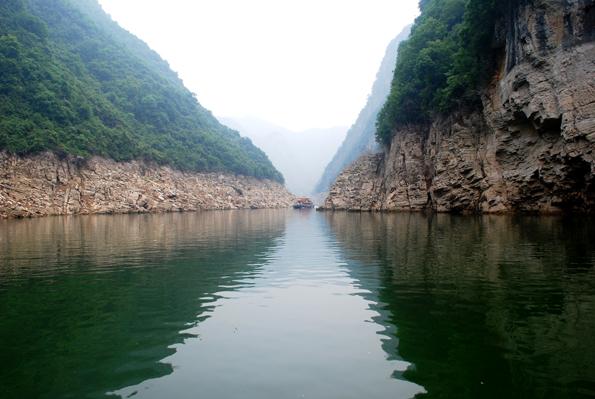 El río Shennong.