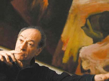 Jorge Ayala Blanco. Foto © Miriam Sánchez / Milenio Diario.