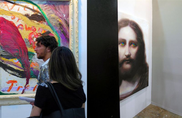 Abstracción y Jesús.