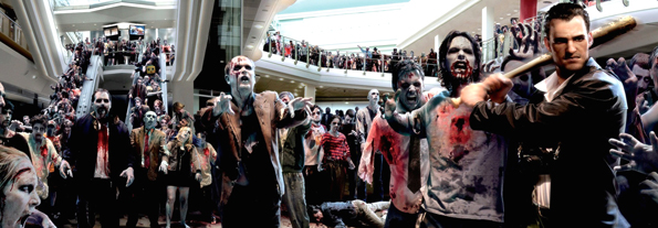 Zombies por todas partes.