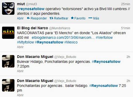 El hashtag de Reynosafollow, un fenómeno estudiado incluso por investigadores del MIT.