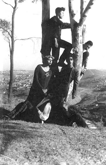 Los miembros de El Hocicón Nocturno.