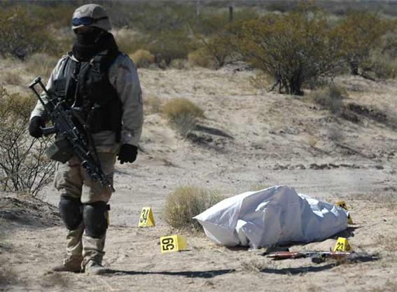 La guerra interminable... foto © www.contactodf.com
