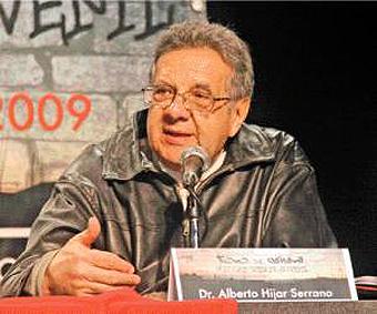 Alberto Híjar, asesor de tesis de la universitaria Morett.
