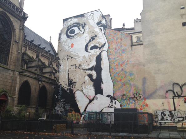 Obra de un artista de París.