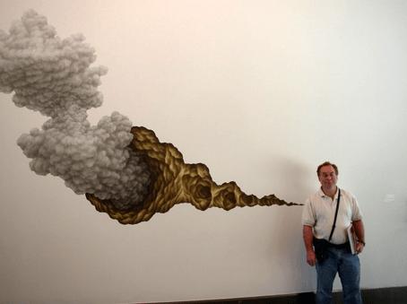Obra etérea de un artista neoyorquino.