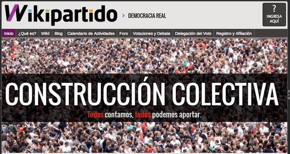 El portal del Wikipartido.