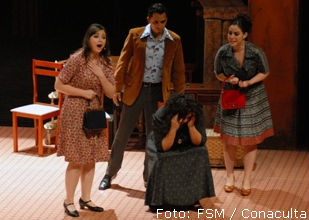 Una escena de The medium. Foto © FSM Conaculta.