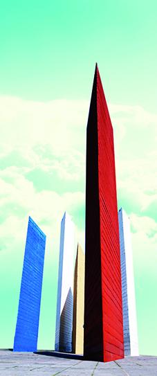 Las torres...