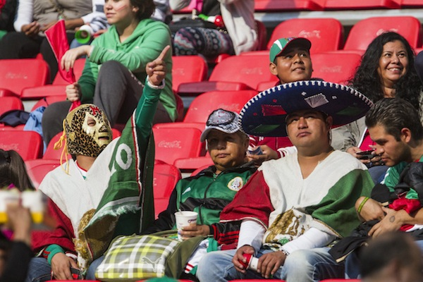 fanaticos seleccion mexicana