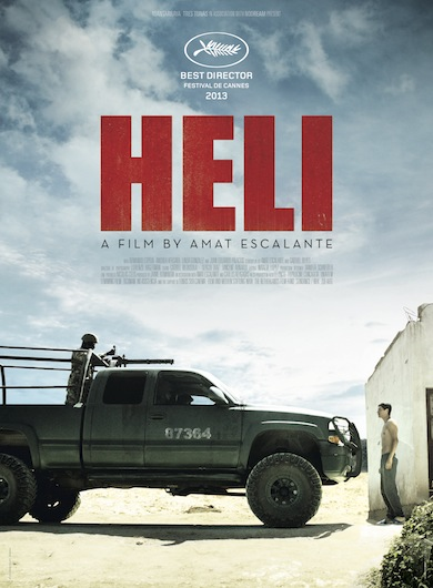 poster pelicula heli
