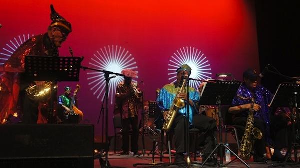 Sun Ra Arkestra. Foto de @memodioso, cortesía de www.sopitas.com