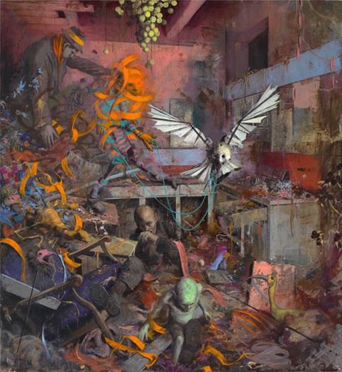 """Jonas Burgert, """"Hell Schlagt"""", 2013."""
