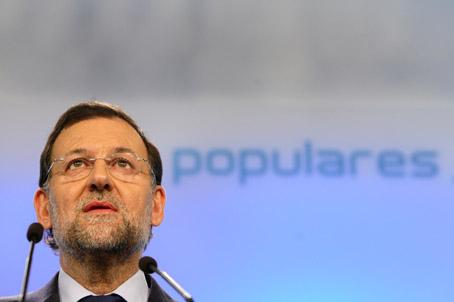 Rajoy, el CaraPlasma. Foto © Enrique Cidoncha.