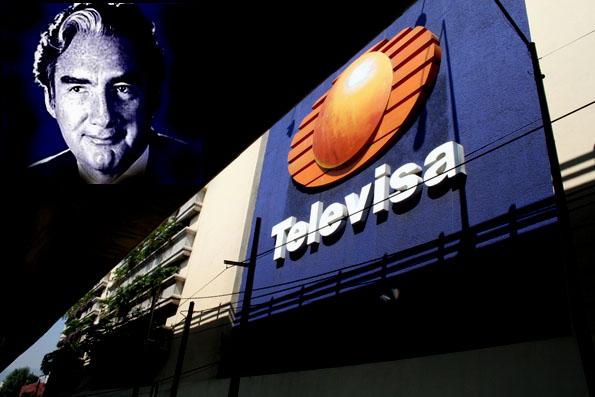 Emilio Azcárraga Milmo. Foto de Televisa © Proceso Foto.