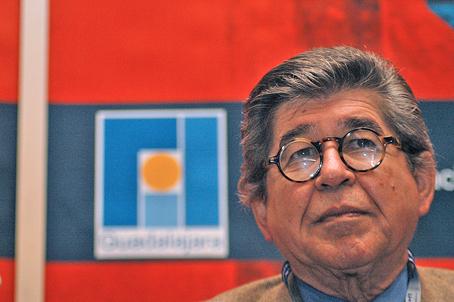 Alfredo Bryce Echenique. Foto FIL Guadalajara.