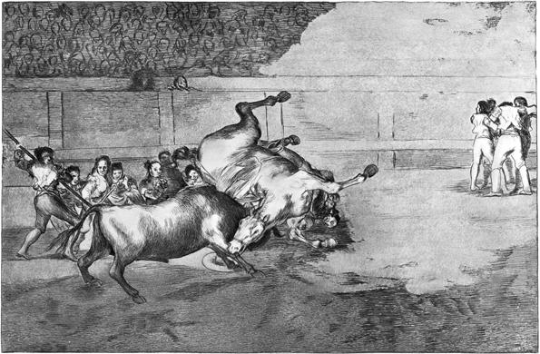 Goya y los toros...