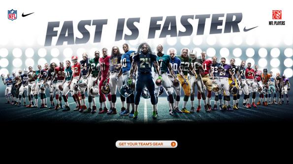 Publicidad de Nike.